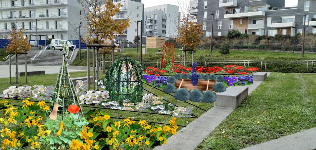Le jardin éphémère 2021 prend forme !